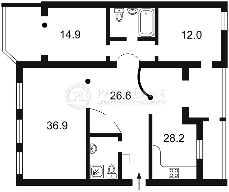 Квартира B-96611, Боткіна, 4, Київ - Фото 4