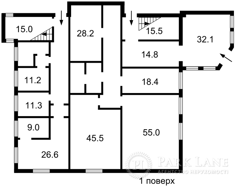 Нежилое помещение, ул. Чаадаева Петра, Киев, I-28441 - Фото 1