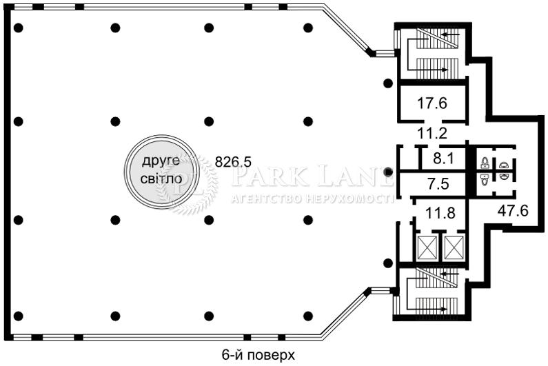 Офіс, Кловський узвіз, Київ, Z-61297 - Фото 2