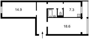 Квартира N-19359, Русановский бульв., 5, Киев - Фото 3