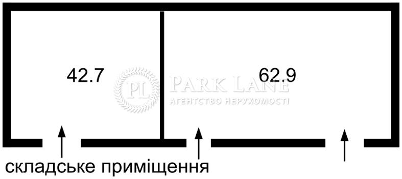 Нежитлове приміщення, Z-677165, Калинівка (Макарівський) - Фото 3