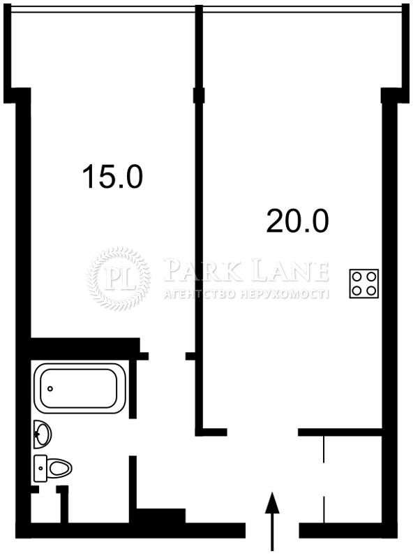 Квартира ул. Донца Михаила, 2а, Киев, Z-292952 - Фото 2