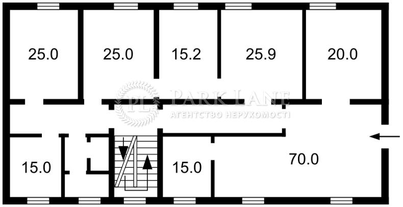 Нежилое помещение, I-28356, Горького, Софиевская Борщаговка - Фото 2