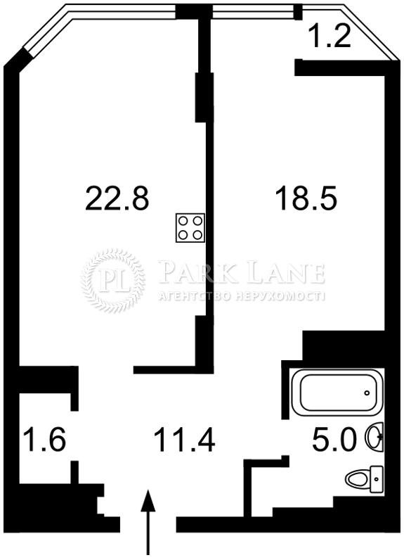 Квартира I-28487, Болсуновская (Струтинского Сергея), 2, Киев - Фото 10