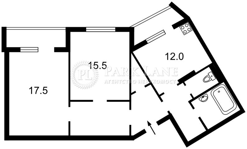 Квартира Науки просп., 54б, Киев, R-17242 - Фото 2