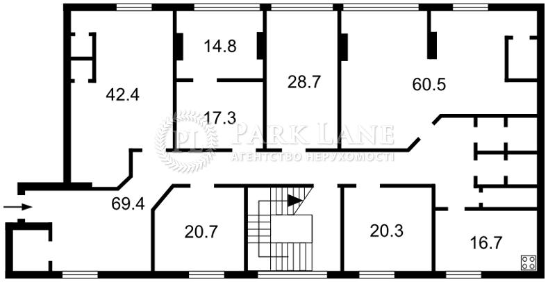 Нежитлове приміщення, B-96815, Велика Васильківська, Київ - Фото 1