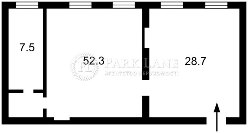 Нежилое помещение, Рыльский пер., Киев, Z-205971 - Фото 2