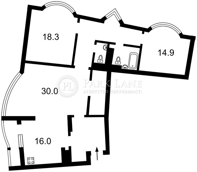 Квартира ул. Днепровская наб., 19, Киев, R-9783 - Фото 2