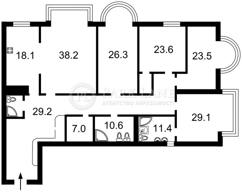 Квартира K-25905, Институтская, 18а, Киев - Фото 5