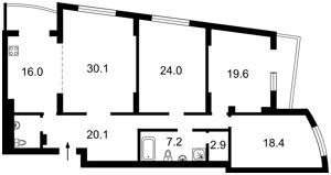 Квартира L-25237, Окипной Раиcы, 10б, Киев - Фото 3