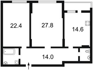 Квартира C-98933, Коломыйский пер., 17/31а, Киев - Фото 6