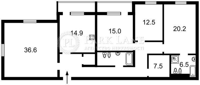 Квартира ул. Павловская, 18, Киев, K-26340 - Фото 2