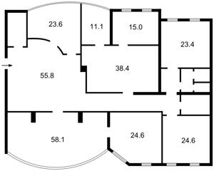 Коммерческая недвижимость, B-96813, Большая Васильковская, Голосеевский район