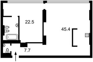 Квартира J-25764, Коновальца Евгения (Щорса), 44а, Киев - Фото 6