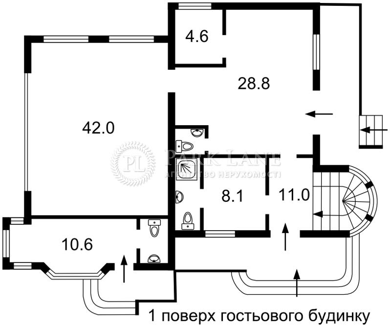 Будинок вул. Каштанова, Зазим'я, R-22975 - Фото 4