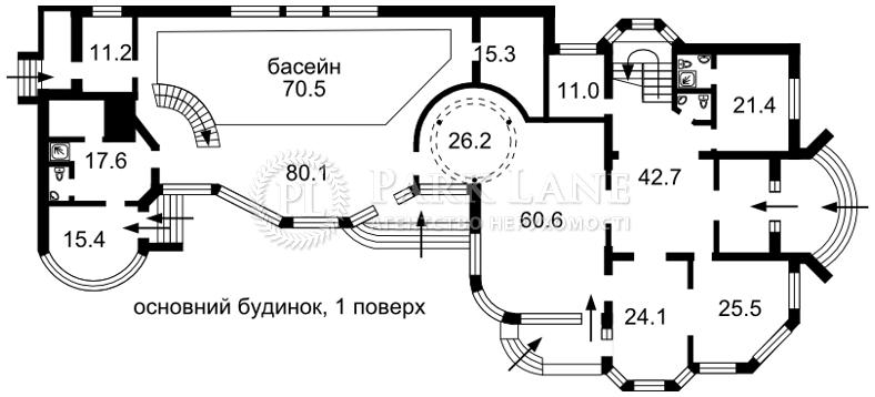 Дом I-25785, Каштановая, Зазимье - Фото 5