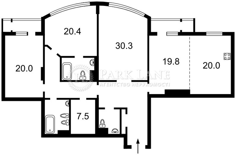 Квартира Шевченко Тараса бульв., 27б, Киев, J-22828 - Фото 2