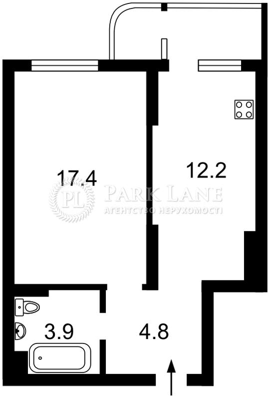 Квартира ул. Кондратюка Юрия, 5, Киев, J-25836 - Фото 2