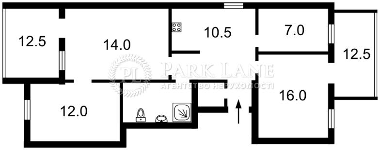 Квартира Шевченка Т.бул., 48б, Київ, R-16769 - Фото 2