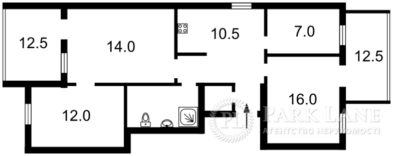 Квартира Шевченко Тараса бульв., 48б, Киев, R-16769 - Фото 2