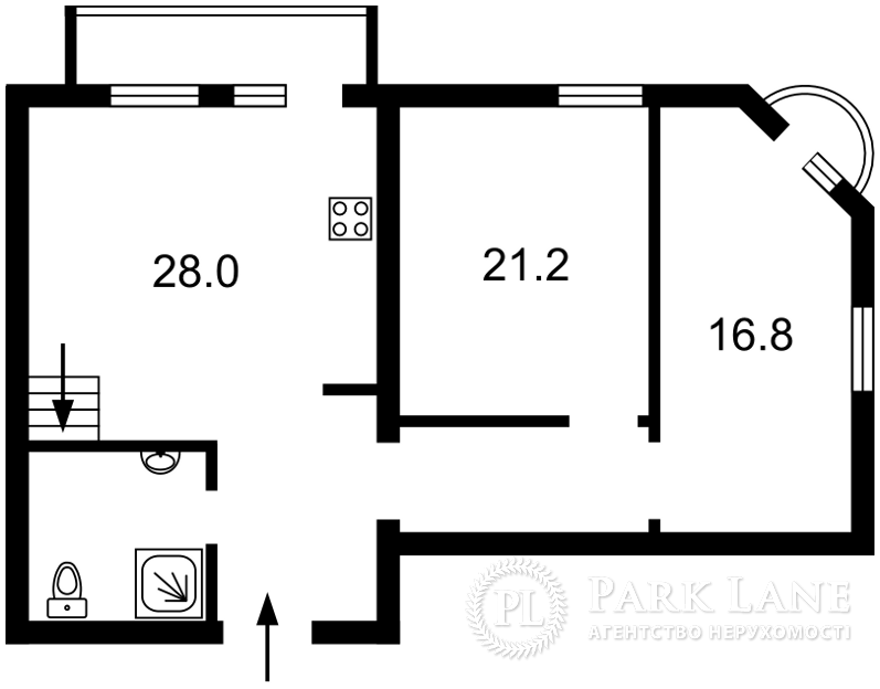 Квартира ул. Владимирская, 40/2, Киев, J-25880 - Фото 2
