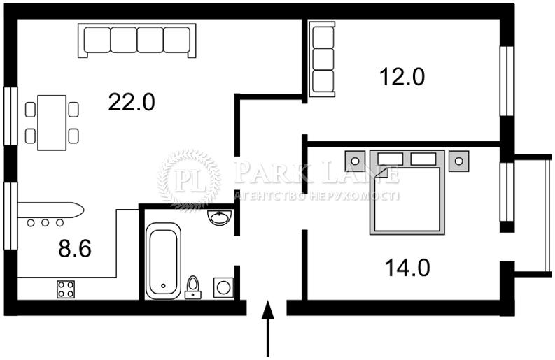 Квартира N-15778, Коновальца Евгения (Щорса), 27а, Киев - Фото 3
