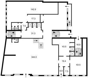 Коммерческая недвижимость, B-97161, Воздвиженская, Подольский район