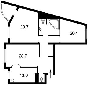 Квартира Z-1572235, Голосеевский проспект (40-летия Октября просп.), 68, Киев - Фото 3