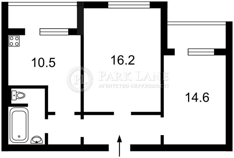 Квартира Курбаса Леся (50-летия Октября) просп., 1 корпус 1, Киев, R-17383 - Фото 2
