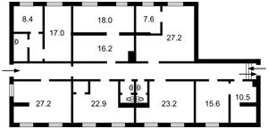 Коммерческая недвижимость, B-97185, Багговутовская, Шевченковский район