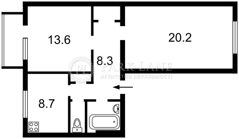 Квартира ул. Овручская, 17, Киев, Z-344059 - Фото 2
