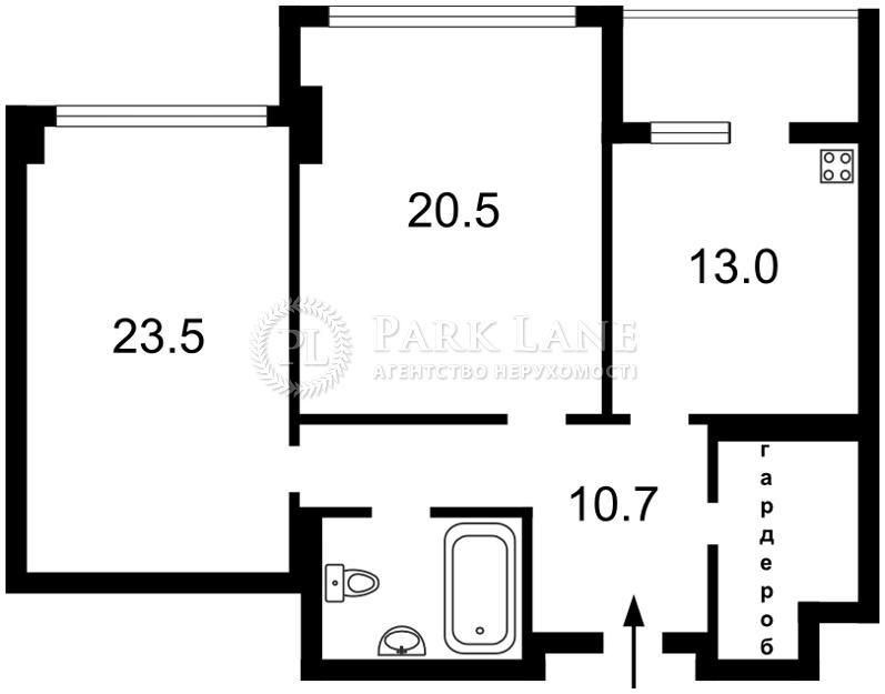 Квартира ул. Драгомирова Михаила, 14, Киев, J-25983 - Фото 2