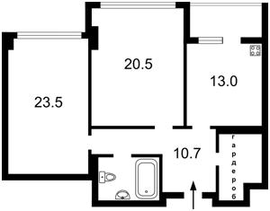 Квартира J-25983, Драгомирова, 14, Київ - Фото 3