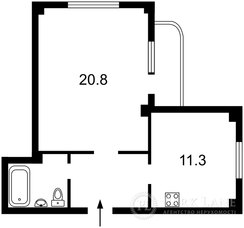 Квартира ул. Макеевская, 8, Киев, Z-269624 - Фото 2