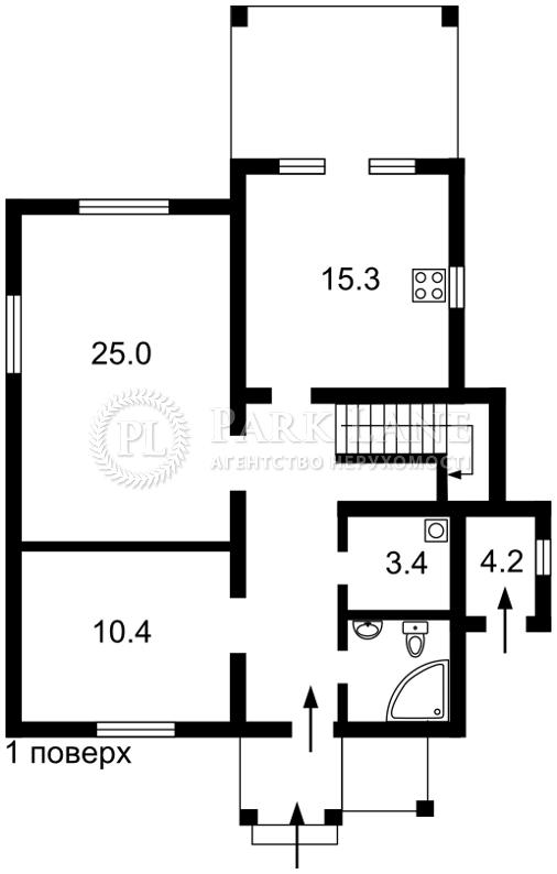 Будинок Забір'я, R-18524 - Фото 2