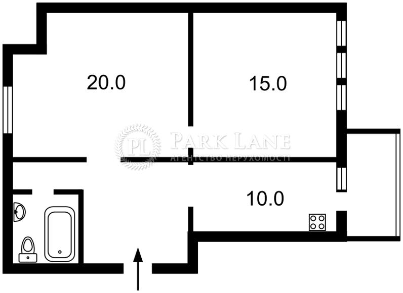 Квартира ул. Голосеевская, 13б, Киев, Z-1561056 - Фото 2