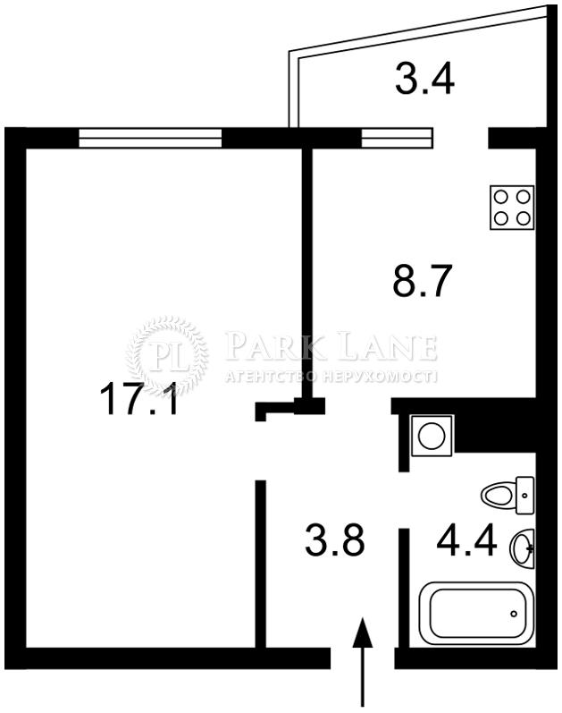 Квартира ул. Стеценко, 75, Киев, I-28805 - Фото 2
