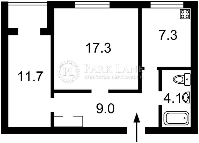 Квартира ул. Коперника, 16б, Киев, Z-310293 - Фото 2