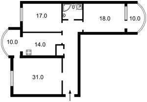 Квартира R-19048, Оболонская набережная, 3, Киев - Фото 4
