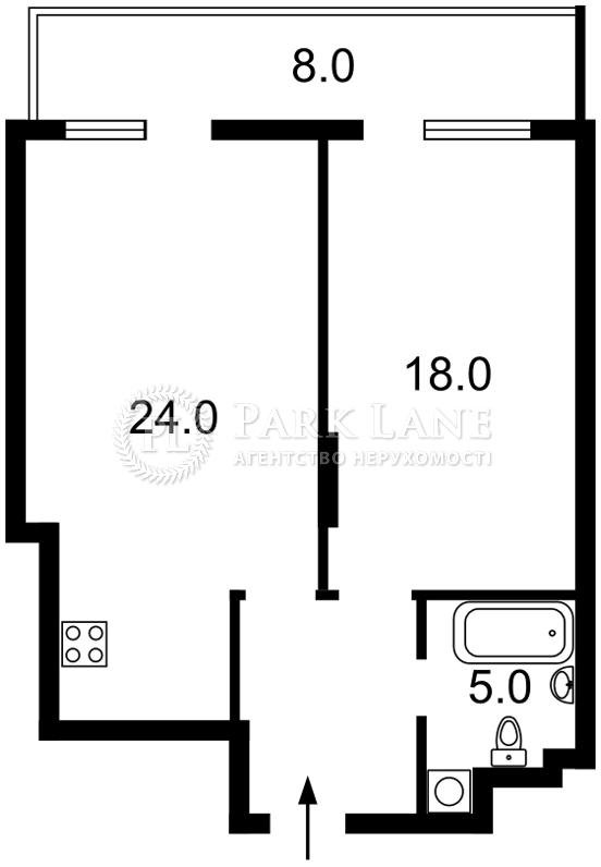 Квартира Леси Украинки бульв., 7в, Киев, B-97360 - Фото 2