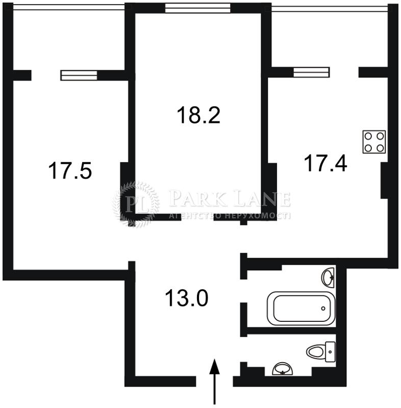 Квартира ул. Кондратюка Юрия, 3, Киев, L-25324 - Фото 2
