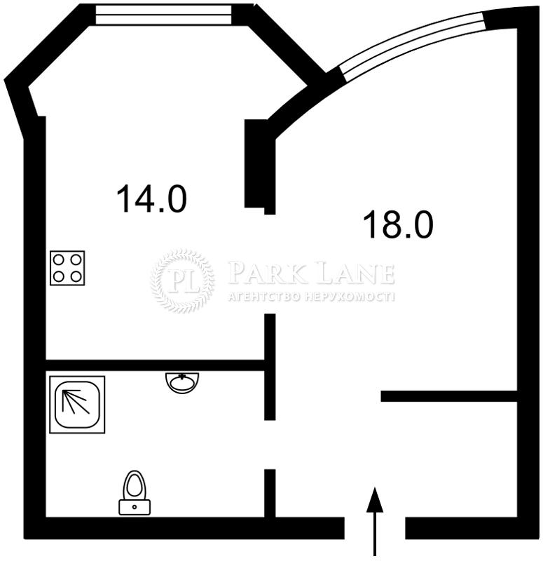 Квартира ул. Завальная, 10а, Киев, L-25366 - Фото 2