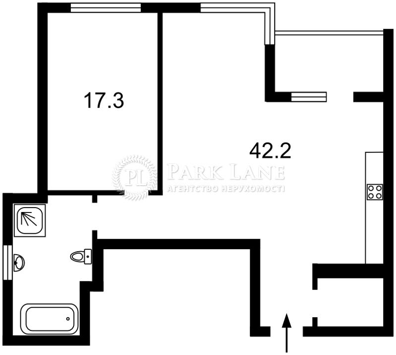 Квартира J-26092, Джона Маккейна (Кудри Ивана), 7, Киев - Фото 9