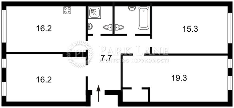 Квартира ул. Регенераторная, 4 корпус 2, Киев, R-19183 - Фото 2