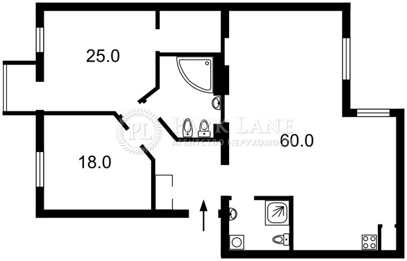 Квартира ул. Лютеранская, 25, Киев, I-28711 - Фото 2