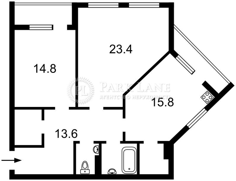 Квартира K-26679, Героев Севастополя, 35а, Киев - Фото 3