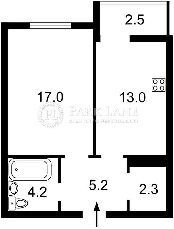 Квартира ул. Филатова Академика, 2/1, Киев, Z-28931 - Фото 2