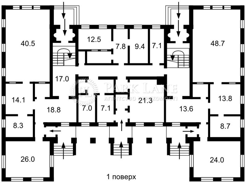 Нежилое помещение, B-97411, Попудренко, Киев - Фото 4