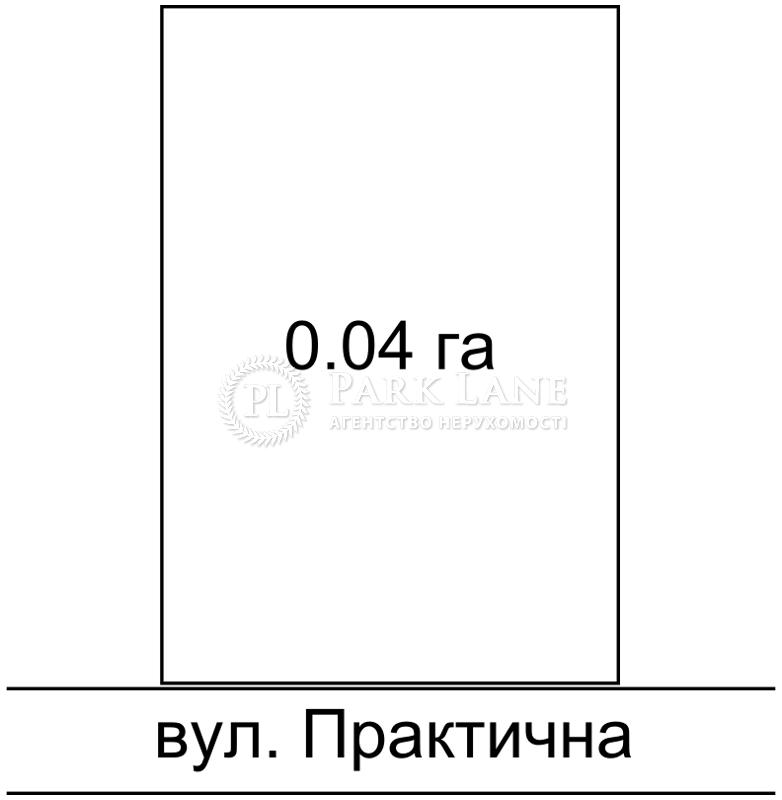 Земельна ділянка вул. Практична, Київ, K-26688 - Фото 1