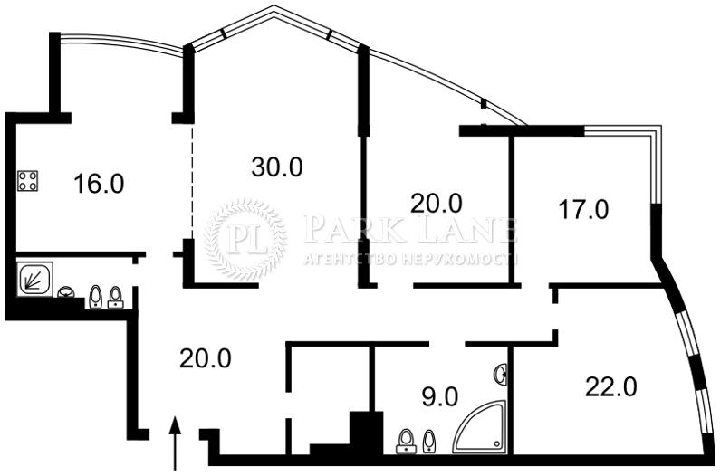 Квартира B-97171, Лесі Українки бул., 30б, Київ - Фото 4